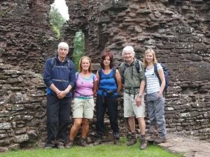 Group at Grosmont Castle