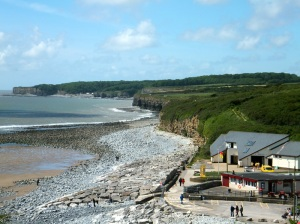 Llantwit beach looking towards St Donats