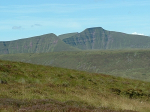 Cefn Cyff Cribyn, Pen y Fan and Corn Du