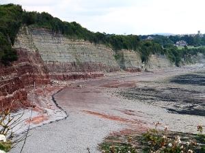 Penarth clifftop and beach