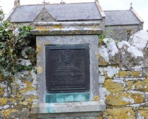 The Marconi plaque