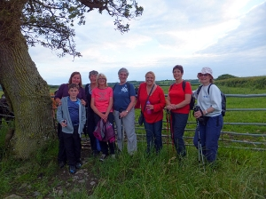 Group picture from Glodsland walk