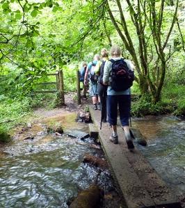 Wenallt crossing Cwm Nofydd stream