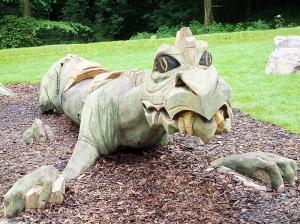 Wenallt Fforest fawr dragon sculpture