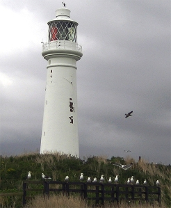 Lighthouse on Flat Holm