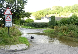 Llancarfan village ford
