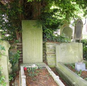 Llangynwyd village grave of Wil Hopcyn
