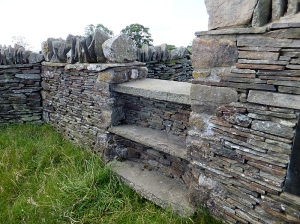 Tegernacus memorial beautiful stone walling