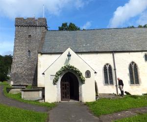 St Cadoc's Church Llancarfan
