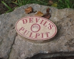Devil's Pulpit Sign