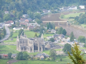 Tintern Abbey from the Devil's Pulpit