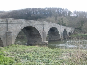 Kerne Bridge across the Wye near Goodrich