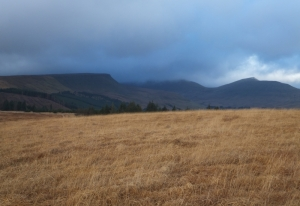 Low cloud over the Beacons