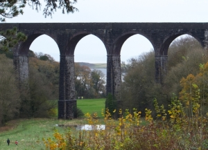 Porthkerry the viaduct