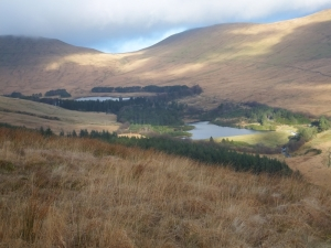 Upper and Lower Neuadd reservoirs