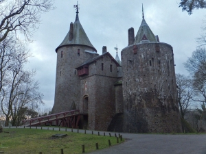 Castell Coch the red castle