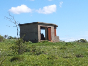Forward observation and rangefinder post Lavernock Reserve (not taken on the day)