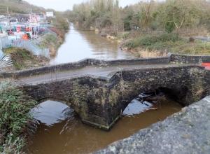 Old Leckwith Bridge