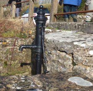 The old village pump at Pitcot Pool