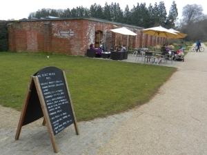 The Secret Garden tea room eastern bank of Taff