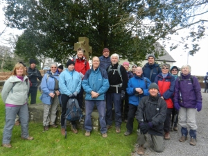 20th Anniversary Walk at Llanhennock St John the Baptist
