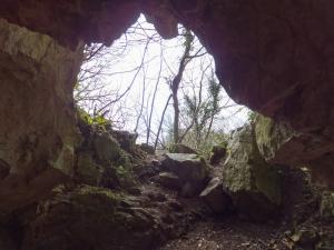 Inside Cathole Cave