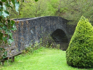 Bridge near Gelligroes Mill over the Sirhowy River