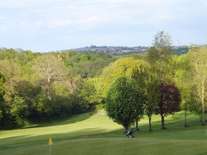 Dinas Golf Course to Lower Penarth