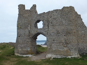 Pennard Castle ruins
