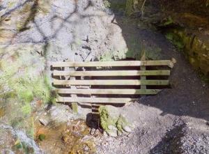 Pontneddfechan old mine entrance