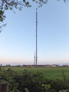 Wenvoe the massive St Lythans TV mast