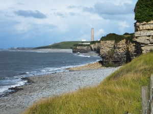View to Aberthaw Power Station