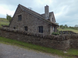 Lovely old stone Caemarchog