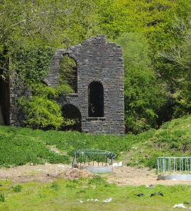Old mineworkings of the Kimberly Drift mine