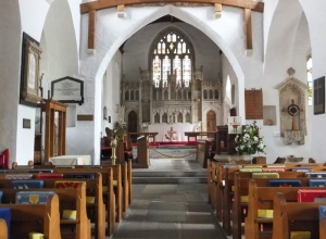 St Illtud's towards the altar