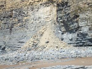 20 mile walk cliff falls on coast