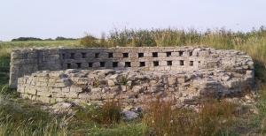 Cosmeston the ruined dovecote