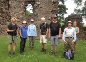 An adventure to celebrate the group's 20th year on the Three Castles Walk with William on 25 June 2013