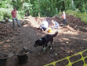 Patch joins in the excavations