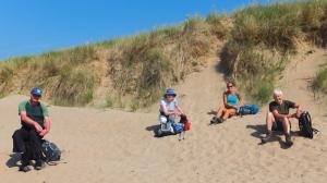 20 mile walk Traeth yr Afon