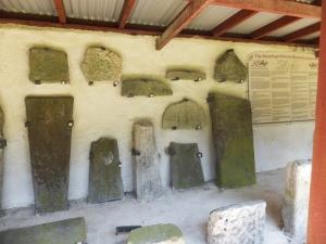 20 mile walk ancient stones at St Teilo's Church