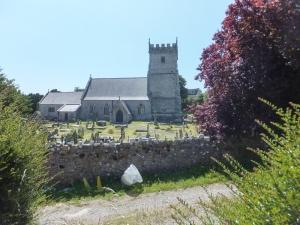 20 mile walk St Bridget's Church St Brides