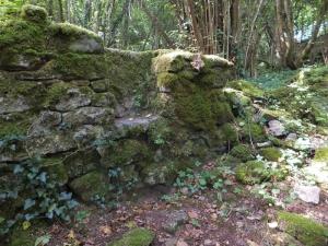 Pretty stone stile to enter Cwm y Befos