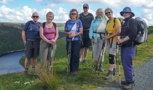 Doethie Valley walk group pic