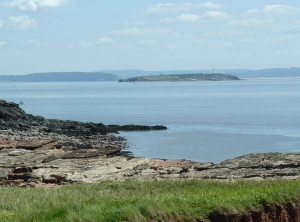 Flat Holm from Sully Island