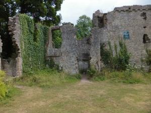 Candleston Castle ruin