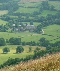 Llanthony Priory from Loxidge Tump