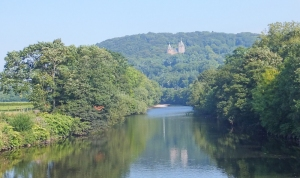 Castell Coch from bridge