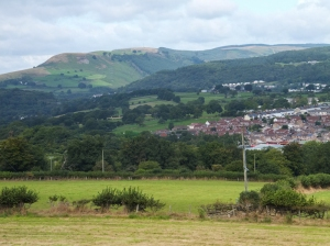 Towards Abercynon