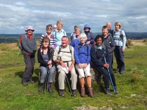 Mynydd Eglwysilan group pic